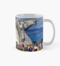 Massen in den Kelpies Tasse