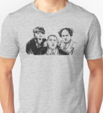 Three Stupid Idiot Ultra Stooges Unisex T-Shirt