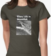 Every Little Life: For The Insect Friends Womens Fitted T-Shirt