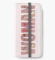 Vinilo o funda para iPhone HS1 - Estilos Álbum Floral Mujer Diseño