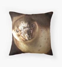 Baby Penguin Throw Pillow