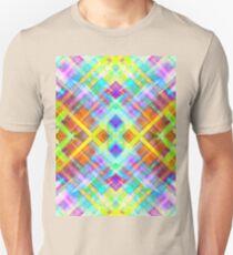 Colorful digital art splashing G71 Unisex T-Shirt