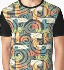 Abstract Colorful Pattern Graphic T-Shirt