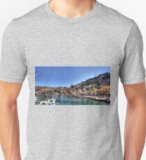 Gialos Harbour Panorama Unisex T-Shirt