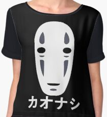 No Face - Spirited Away Chiffon Top
