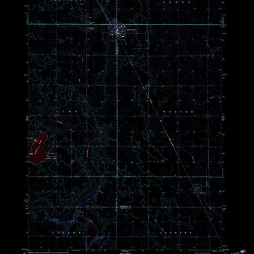 USGS TOPO Map Iowa IA Gilmore City 174719 1979 24000 Inverted by wetdryvac