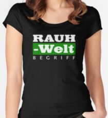 RWB GREEN Women's Fitted Scoop T-Shirt