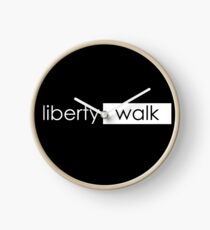 LIBERTY WALK Clock