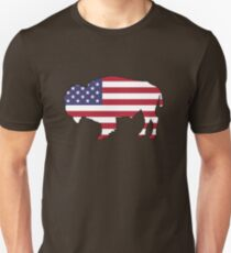 American Flag – Bison T-Shirt