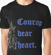 Courage, Dear Heart Graphic T-Shirt