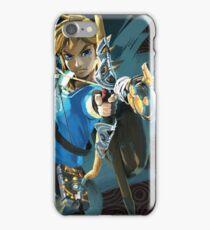 Link - The Legend Of Zelda - Breath of the Wild iPhone Case/Skin