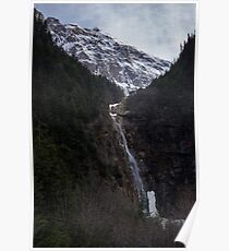 Twin Falls, Smithers, British Columbia Poster