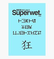 Superwet Photographic Print