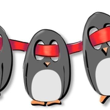 Penguin Ribbon by MaijaR