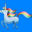 Happy Unicorn von skrich