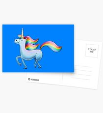Happy Unicorn Postkarten