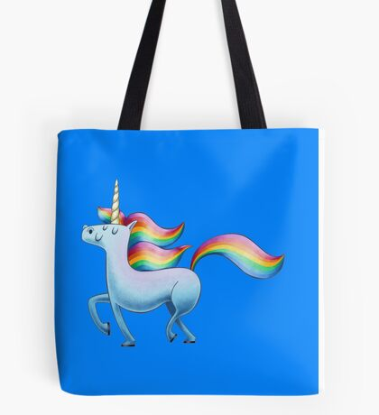 Happy Unicorn Tote Bag