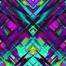 Colorful digital art splashing G472 by MEDUSA GraphicART