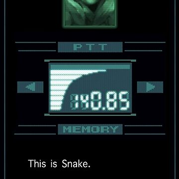 Codec SNAKE -Can you hear me?- by Loresoul
