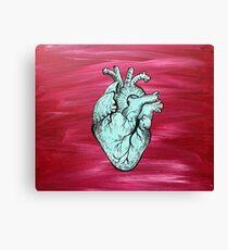 HUMAN HEART Canvas Print