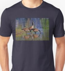Three Canada Geese Unisex T-Shirt