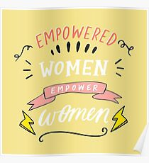 Empowerment for Women Poster