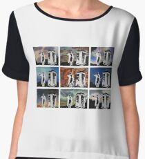 Doctor Who and the Tardis Women's Chiffon Top