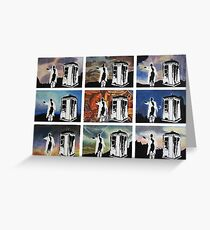 Doctor Who and the Tardis Greeting Card