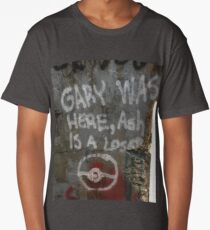 Gary Was Here Long T-Shirt