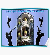 NEW ORLEANS: Jazz Festival Advertising Print Poster