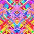 Colorful digital art splashing G470 by MEDUSA GraphicART