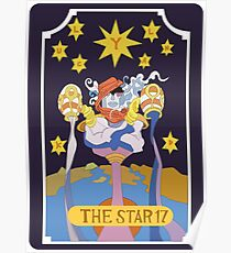 Star Platinum  Poster