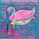 Pink Swan by Keywebco