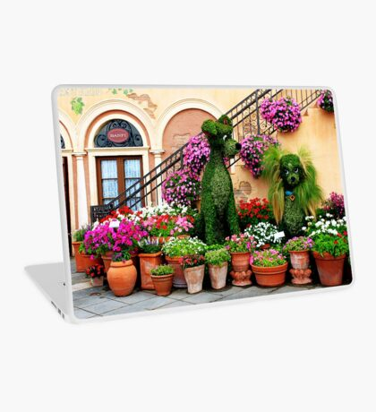 Canines in Love, EPCOT's Flower and Garden Festival Laptop Skin