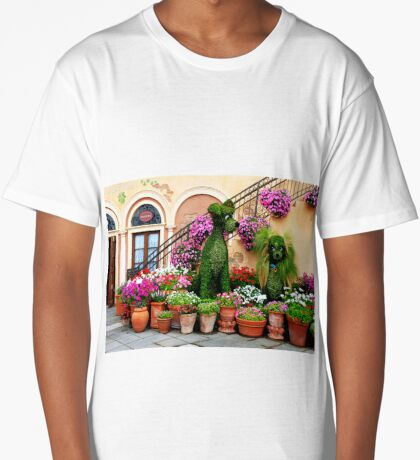 Canines in Love, EPCOT's Flower and Garden Festival Long T-Shirt