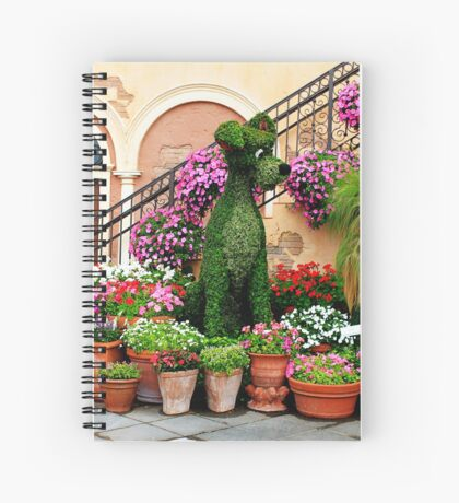 Canines in Love, EPCOT's Flower and Garden Festival Spiral Notebook