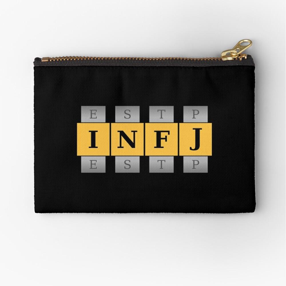 INFJ Spin Zipper Pouch