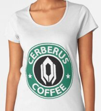Cerberus Coffee Mass Effect Women's Premium T-Shirt