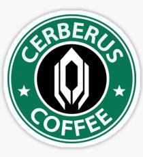 Cerberus Coffee Mass Effect Sticker