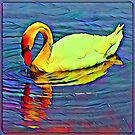 Abstract Swan by Keywebco