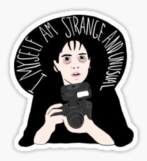 Strange & Unusual Sticker