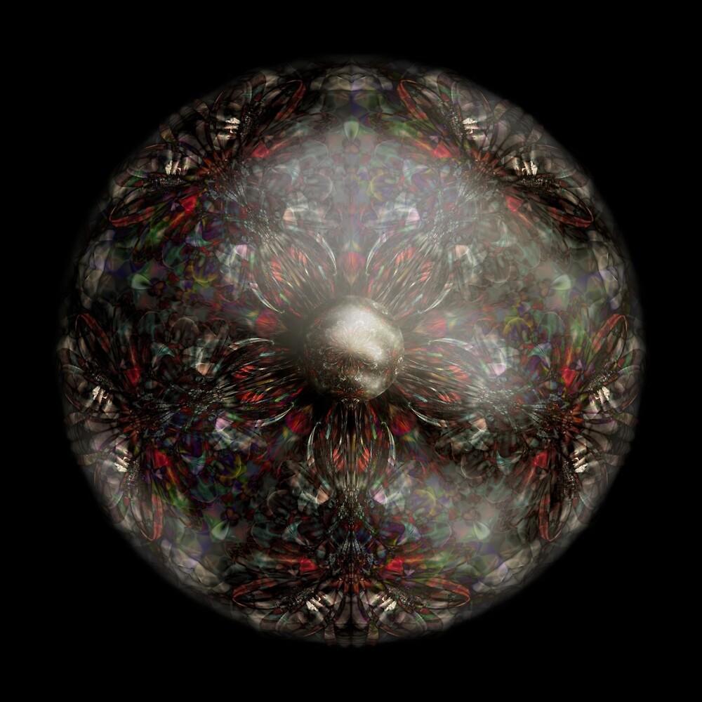 Hybrid Sphere Lavascent Daisy 5B by Neil Montgomery