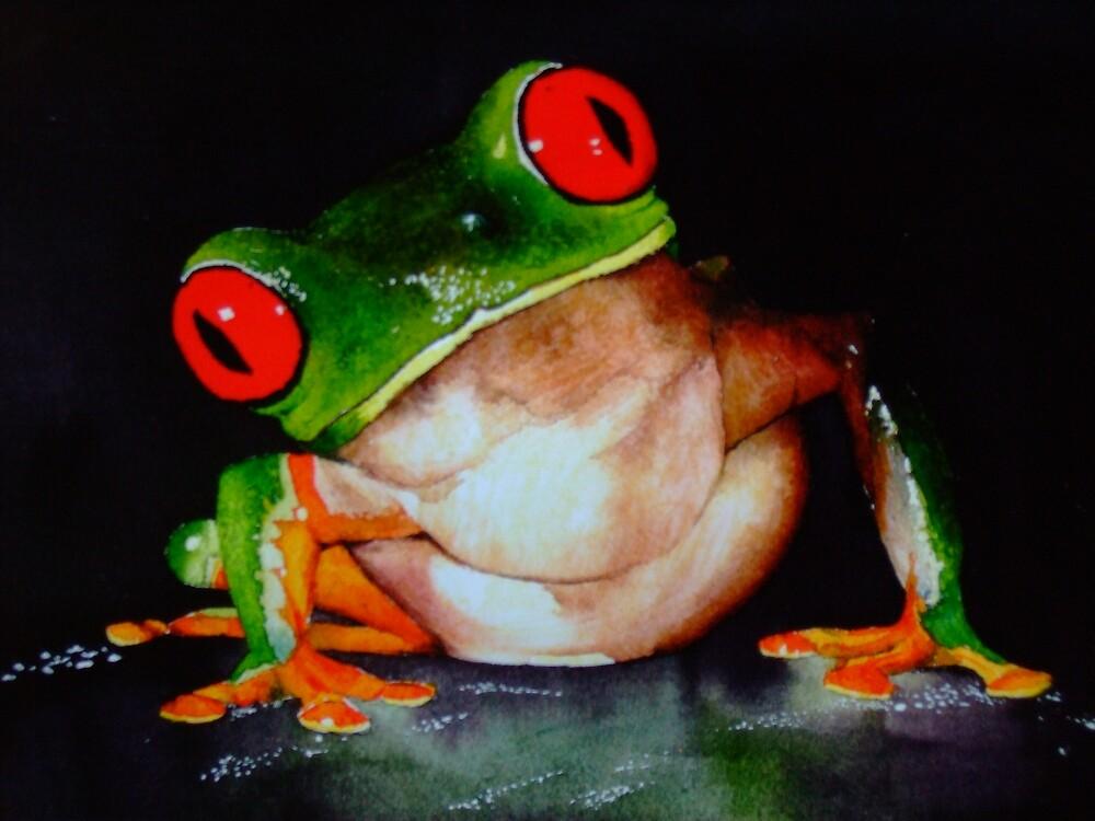 Lizzie's Frog by derbyka