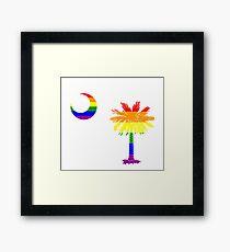 South Carolina Palmetto pride! Framed Print