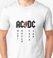 Raiders!! ACDC-Amari Cooper/Derek Carr.  Unisex T-Shirt