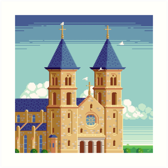 Cathedral of the Plains by Slynyrd