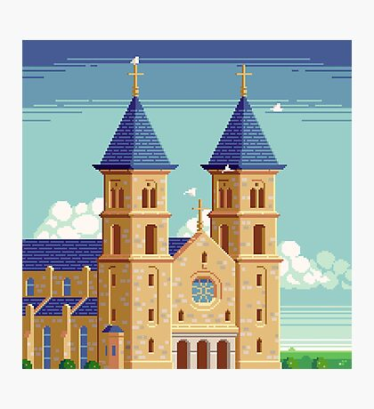 Cathedral of the Plains Photographic Print