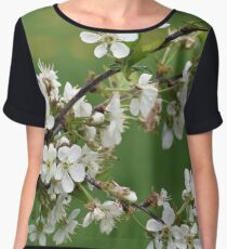 Flowering Tree Chiffon Top