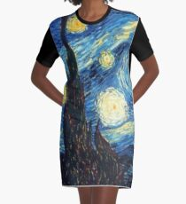 Vestido camiseta Noche estrellada