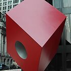 Red cube by umumar